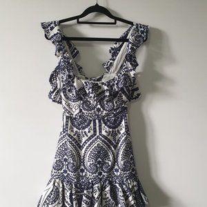 Bardot Lace Mini Dress